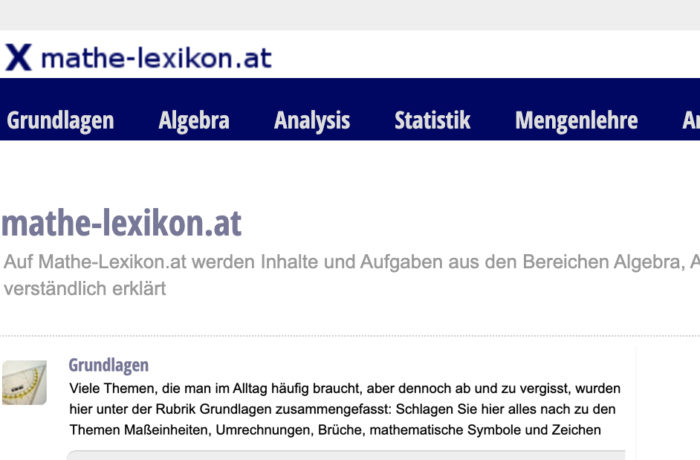 Mathe-lexikon.at